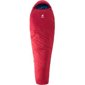 Deuter Orbit -5° Sleeping Bag Regular, cranberry/steel